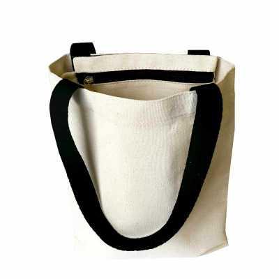 Ecofábrica - – dimensões da ecobag modelo envelope: 27 x 34 cm; – dimensões do estojo para canetinhas: 19 x 10 cm; – material de ambos em lona 100% algodão cru esp...