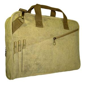 ecofabrica - Pasta Ecológica Personalizada em lona de algodão, reciclada de cargas de caminhão ou lona colorida.