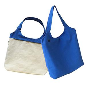 Ecofábrica - Sacola Ecobag dupla face, dimensões: 51 x 49 x 10 cm (tipo envelope - sem lateral), material externo: lona 100% algodão