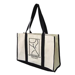 Sacola Ecobag para o Dia-a-Dia em lona, dimensões: 47 x 31 x 17 cm, material: lona 100% algodão 490 grs cru