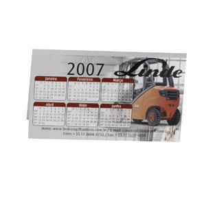 IBC Cartões - Calendário anual com diversos tipos de impressões personalizadas.