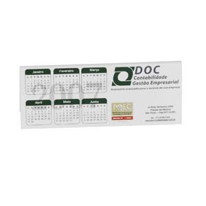 ibc-cartoes - Calendário anual com diversos tipos de impressões personalizadas.