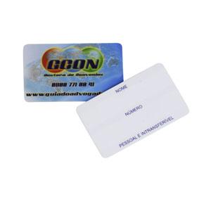 ibc-cartoes - Mini card com impressão personalizada.