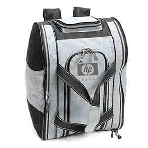 Bolsa mochila 2 em 1 com bolso frontal e lateral - Kriart Brindes
