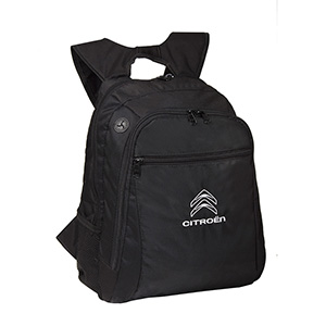 Kriart Brindes - Mochila com Compartimento para Notebook, Compartimento Frontal e Bolso Lateral