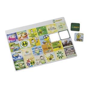 Artebelli Promocional - Jogo da memória personalizado no tamanho grande com base confeccionada em EVA. Evidencie sua empresa com um jogo que estimula a imaginação, criativid...