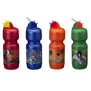 Artebelli Promocional - Squeeze water botlle personalizada com canudo retrátil, capacidade para até 600 ml em diversas cores. Quantidade mínima: 500 unid. Sua marca em eviden...