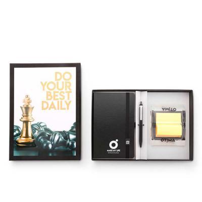 Conheça o Kit Caixa Quadro da Ótima. Além do papertalk maxi, caneta e dispenser em acrílico para ...
