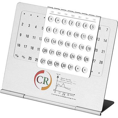 Malgueiro Brindes - Calendário permanente personalizado