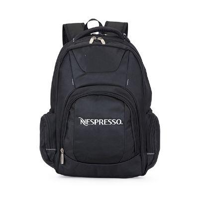 Malgueiro Brindes - Mochila personalizada com porta notebook.