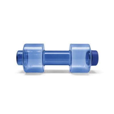 Malgueiro Brindes - Squeeze com formato de peso, para 550 ml.