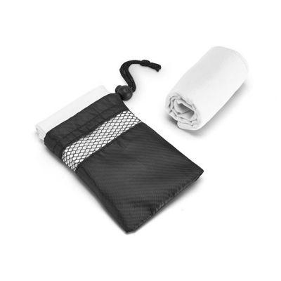 Malgueiro Brindes - Toalha personalizada para esportes. Confeccionada em microfibra 210 gramas, fornecida com bolsa em tactel 190 gramas. Um brinde personalizado ideal pa...