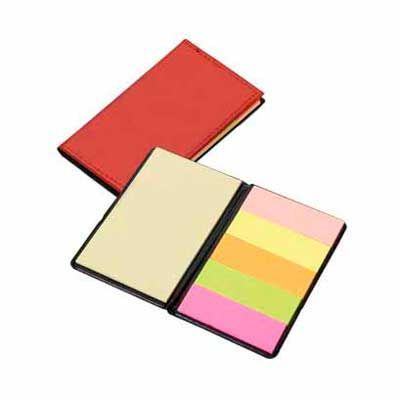 Bloco sticky notes Leather