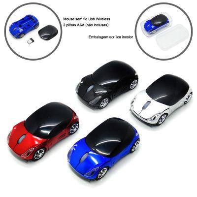 Redd Promocional - Mouse ótico sem fio para brindes corporativos.