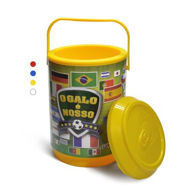 Redd Promocional - Cooler térmico com capacidade para 6 latas.