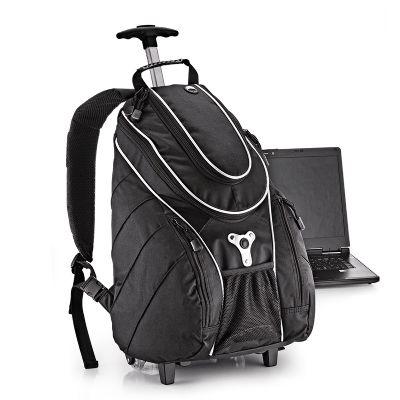 Redd Promocional - Mochila personalizada para notebook com rodinhas.