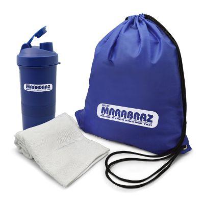 Redd Promocional - Kit fitness personalizado com coqueteleira.