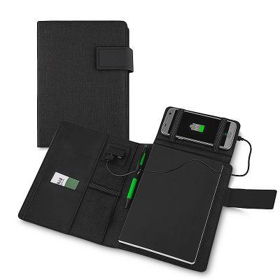 redd-promocional - Caderno com Carregador Wireless 4000mAh Personalizado 1