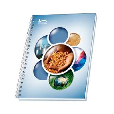 Caderno com Laminação Fosca Promocional 1