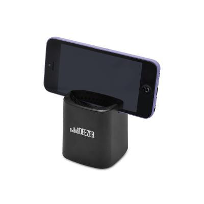 Caixa de Som Bluetooth com Suporte para Celular Personalizada 1