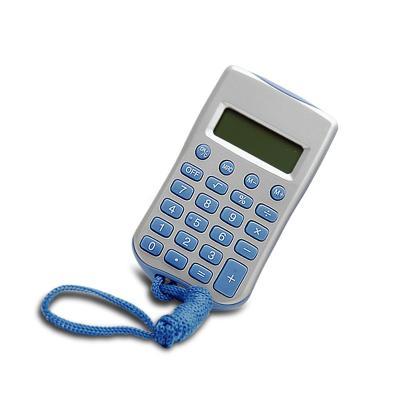 Calculadora 8 Dígitos com Cordão Personalizada 1