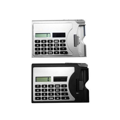 Redd Promocional - Calculadora com caneta e porta cartão