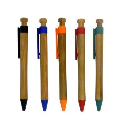 Redd Promocional - Caneta ecológica de bambu para gravação.