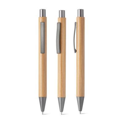 Caneta ecológica de Bambu Personalizada 1