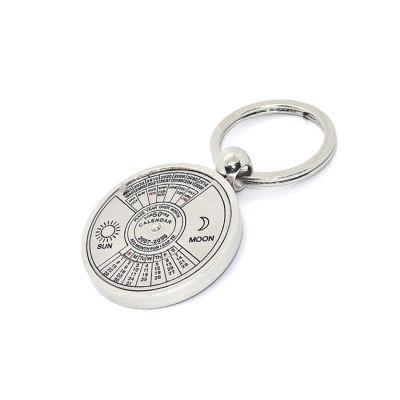redd-promocional - Chaveiro Calendário Permanente de Metal Personalizado 1