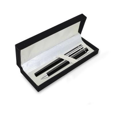 Embalagem Estojo de Camurça para 1 Ou 2 Canetas Personalizado 1 - Redd Promocional