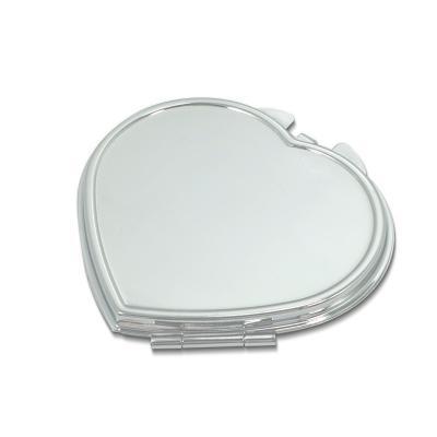 Redd Promocional - Espelho de Bolsa em Formato de Coração 1
