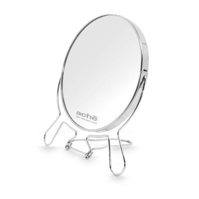 Redd Promocional - Espelho Giratório com lente de Aumento e Base de Metal 1
