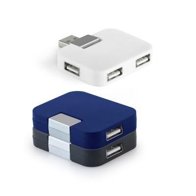 Hub com 4 Entradas USB  Personalizado 1 - Redd Promocional