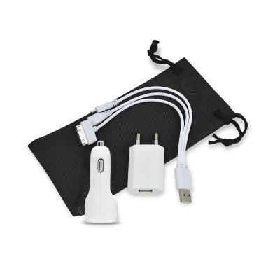 Kit Com Adaptadores USB Personalizado. 1 - Redd Promocional