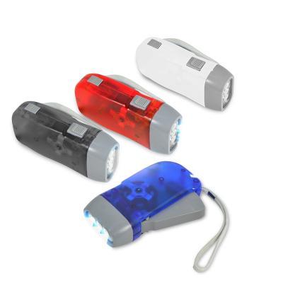 Lanterna com Dínamo Personalizada 1 - Redd Promocional