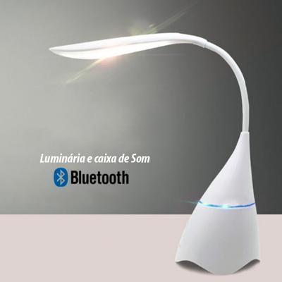 Luminária de Mesa com Caixa de Som Personalizada 1