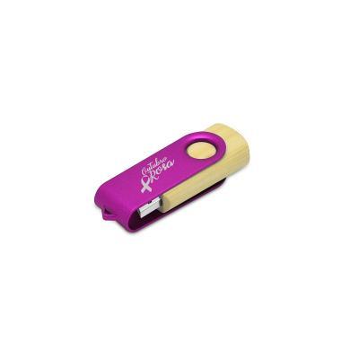 redd-promocional - Pen Drive Bambu 8GB Personalizado 1