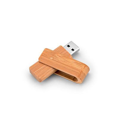 Pen Drive em Bambu 16GB Personalizado 1 - Redd Promocional