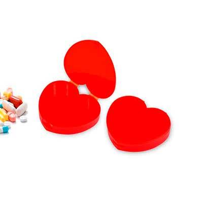 Redd Promocional - Porta Comprimidos Personalizado Formato Coração 1