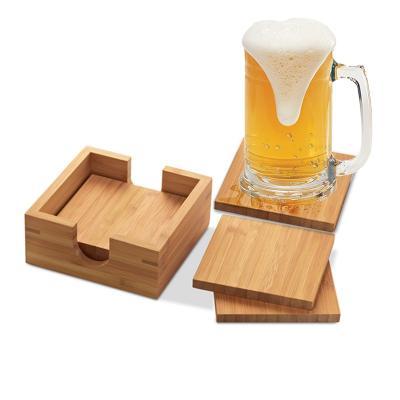 Porta Copo em Bambu Personalizado 1