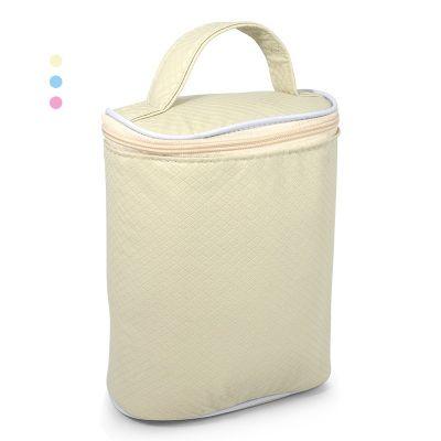 - Porta mamadeira térmica para dar de brinde. Confeccionado em couro sintético e material interno impermeável que conserva e mantém a temperatura do ali...