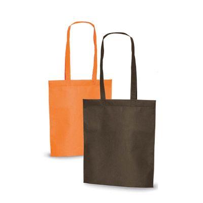Redd Promocional - Sacola em Non-woven, tecido ecológico 100% reutilizável, fabricado em parte com materiais reciclados, grande superfície de gravação