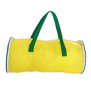 Bolsa esportiva Tema nas cores verde e amarela - Mallumar