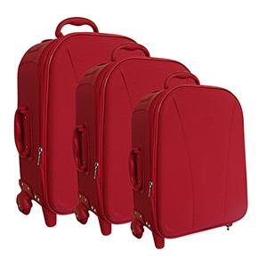 Mallumar - Kit de mala para viagem com rodinhas