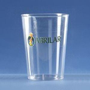 Copo de plástico rígido transparente, com capacidade de 300 ml. Quantidade mínima: 1.000 unidades. Gravação direta em uma cor ou etiqueta adesiva em até quatro cores. Para os momentos de confraternizações, eventos ou festividades empresariais conte com produtos resistentes