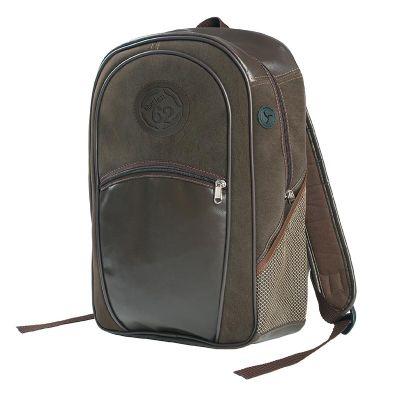 Bic Graphic - Mochila com bolsos frontal e laterais, bolso para MP3 com saída para fio lateral. Alças acolchoadas e ergonômicas