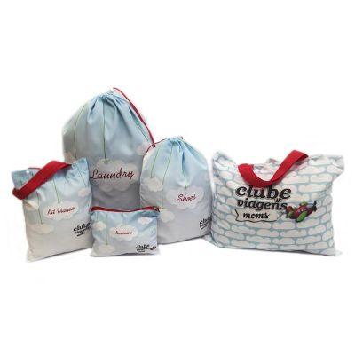bag-e-packs - Kit viagem com 5 peças