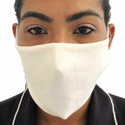 Máscara de proteção em algodão