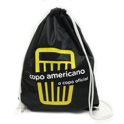 bag-e-packs - Mochila em nylon resinado com cordões