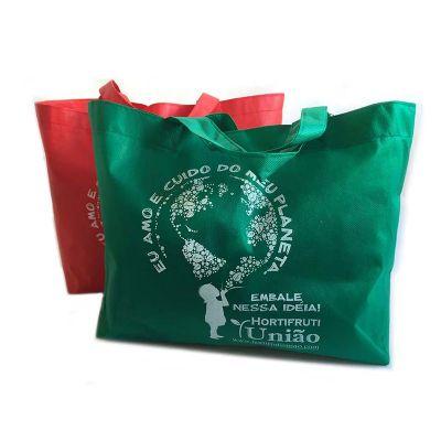 bag-e-packs - Sacola personalizada em TNT.